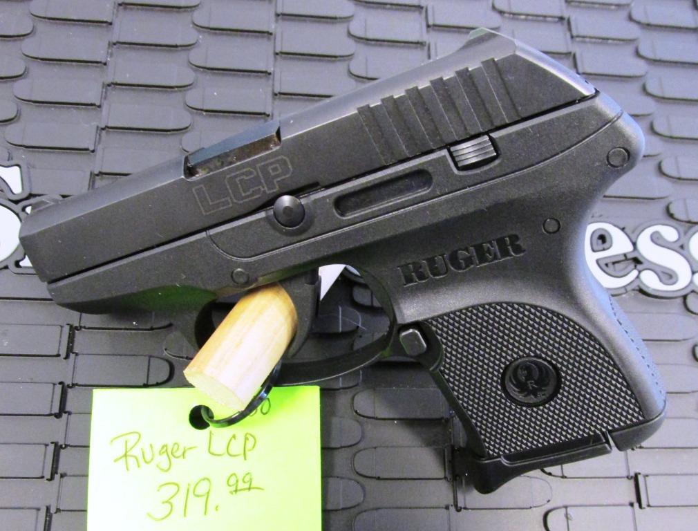 Black & Tan Ruger LCP Pistols | Gunz Inc